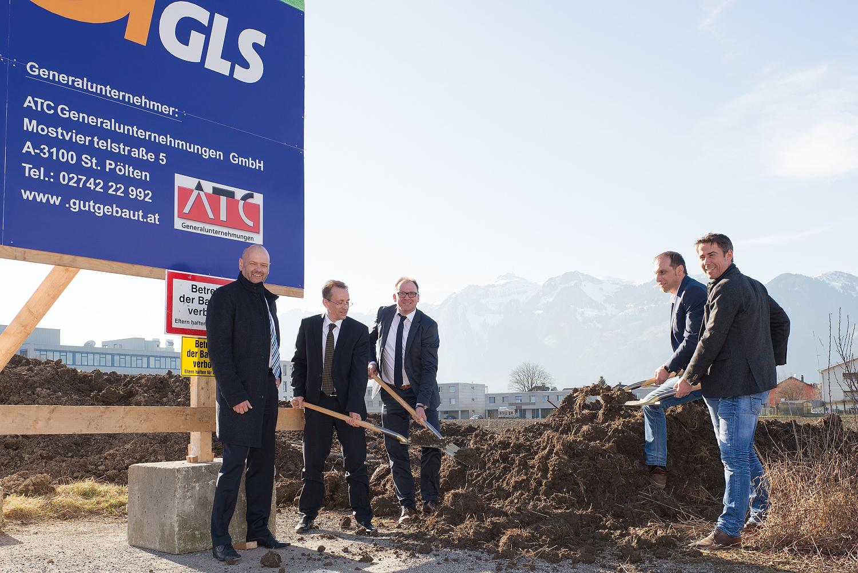 GLS Austria baut um 3,5 Mio. Euro ein Öko-Depot in Vorarlberg