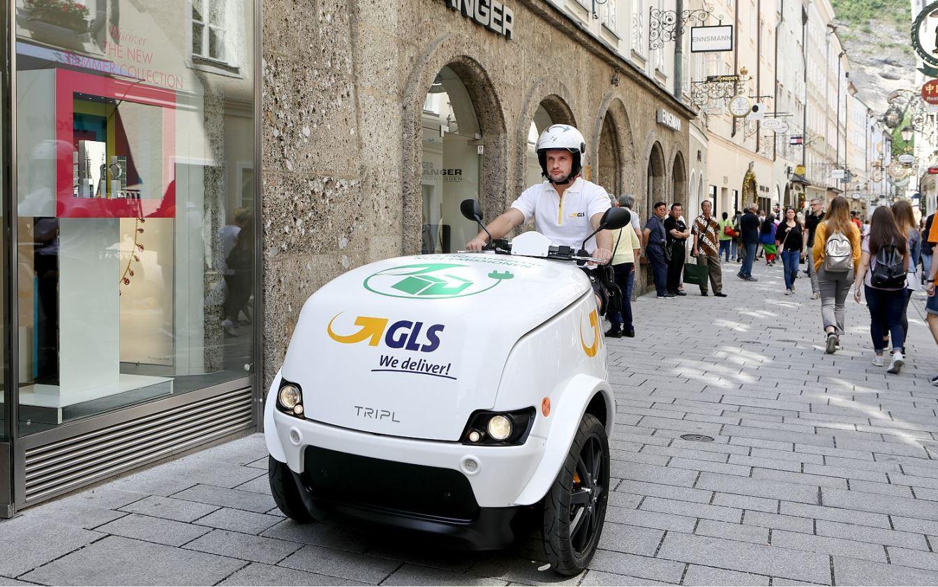 GLS Austria: Erste E-Scooter in Graz, Linz und Salzburg