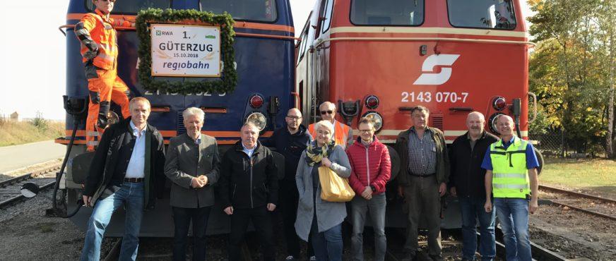 Wiederbelebung des Schienengüterverkehrs im Weinviertel