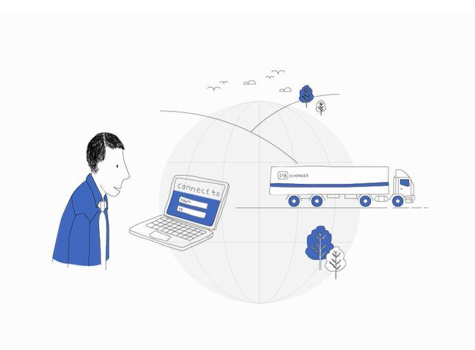 """DB Schenker: Start der neuen Onlineplattform """"connect 4.0"""""""