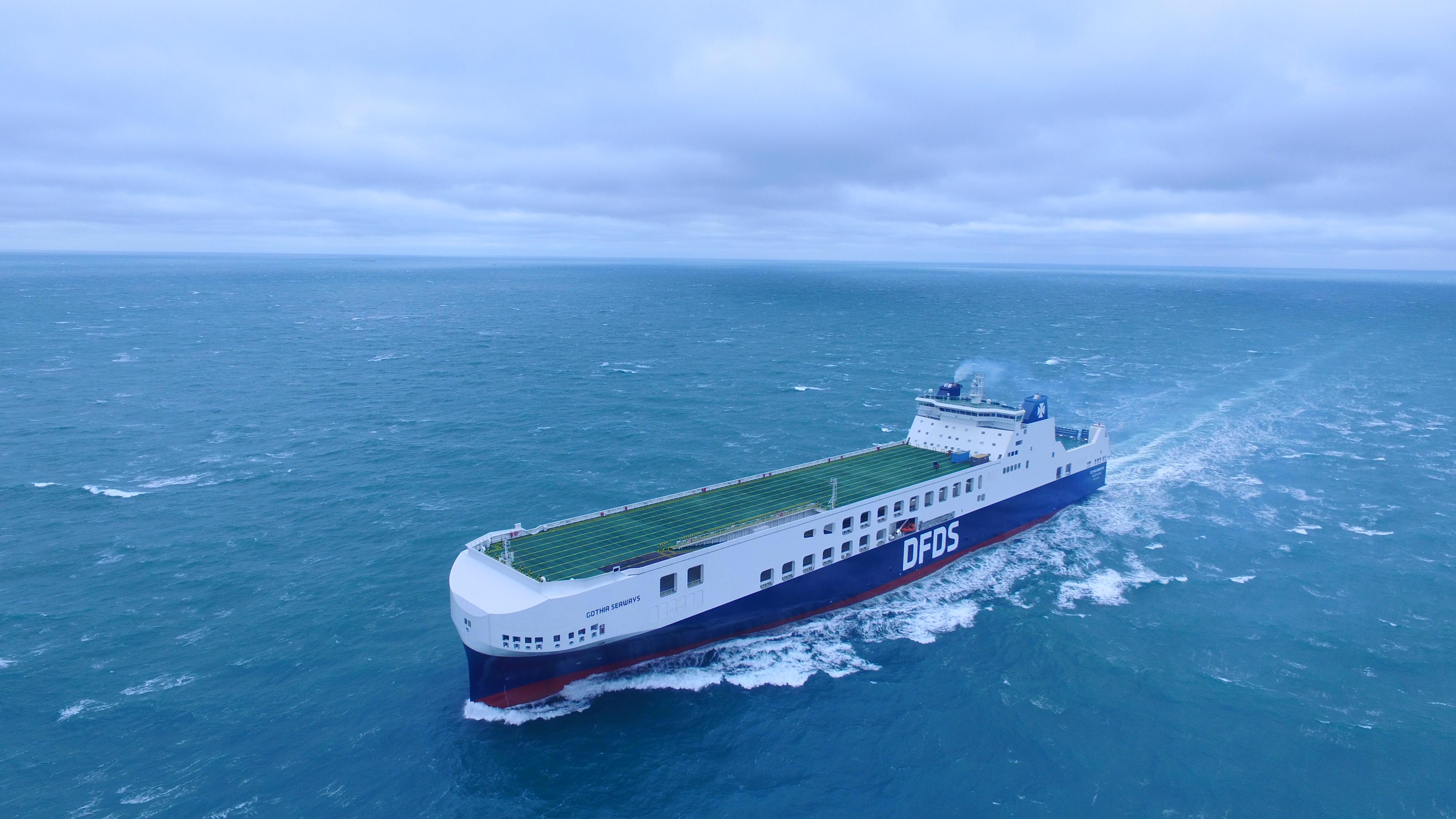 DFDS verbindet Türkei und EU bald mit Megafähren