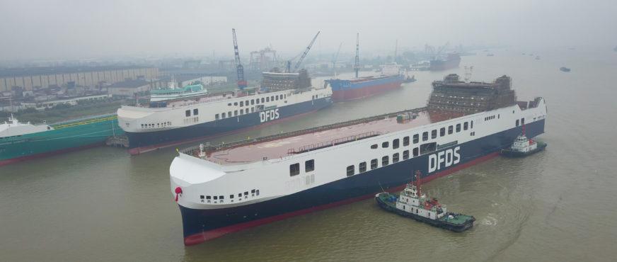 DFDS verstärkt Zusammenarbeit mit Ekol Logistics