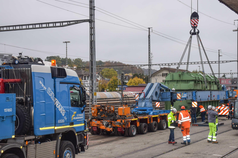 Felbermayr: Premiere für Trafotransport per Hubhebelbrücke