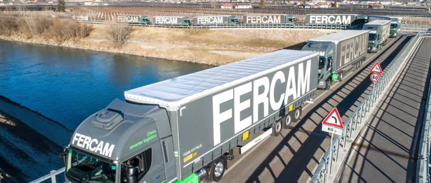 Fercam AG entlastet Brennerachse mit LNG Trucks