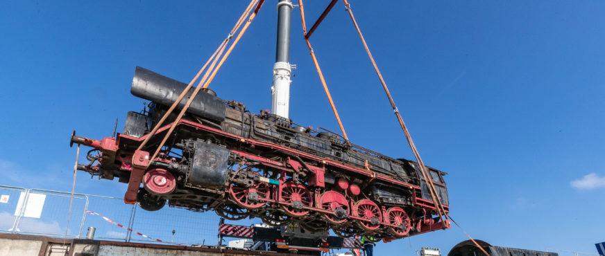 Hafen Wien beherrscht auch den Dampflok-Umschlag