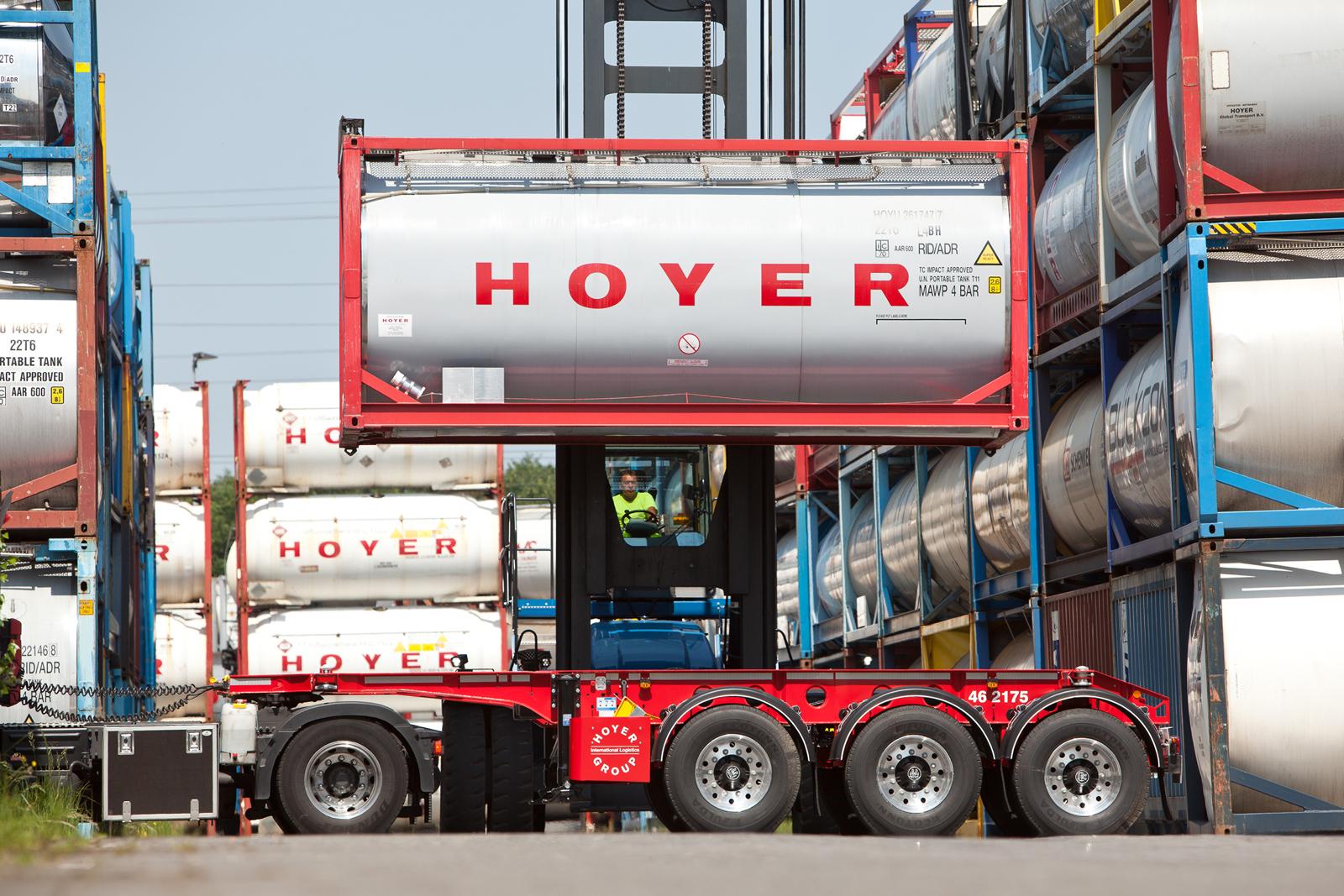 Hoyer Group plant 2019 Verdoppelung der Investitionen