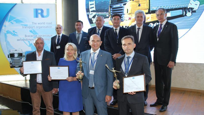 IRU prämiert Leistung der Straßentransporteure in Eurasien