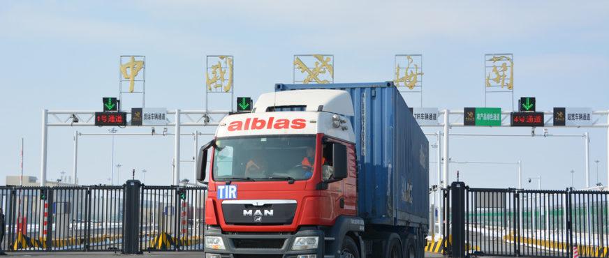 Erster TIR-Transport von Europa nach China