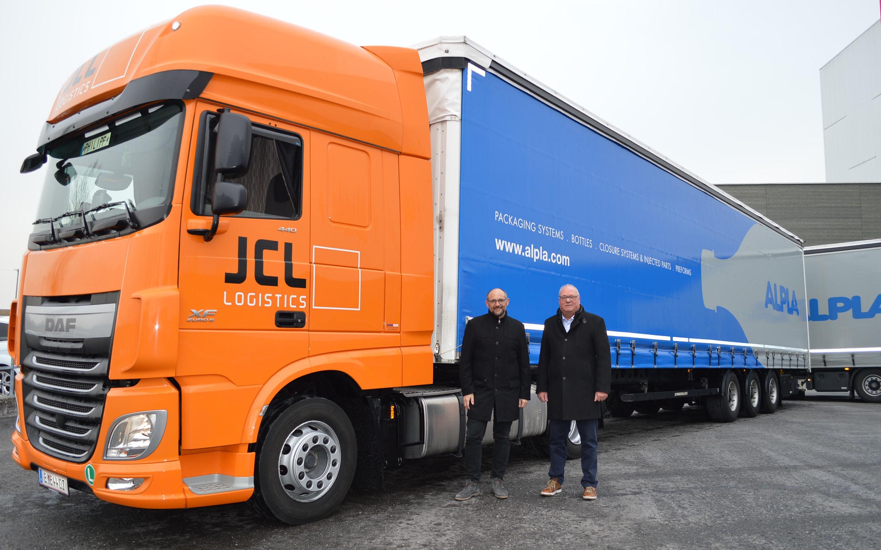 JCL Logistics: Mehrwert im Transport für den Top-Kunden Alpla
