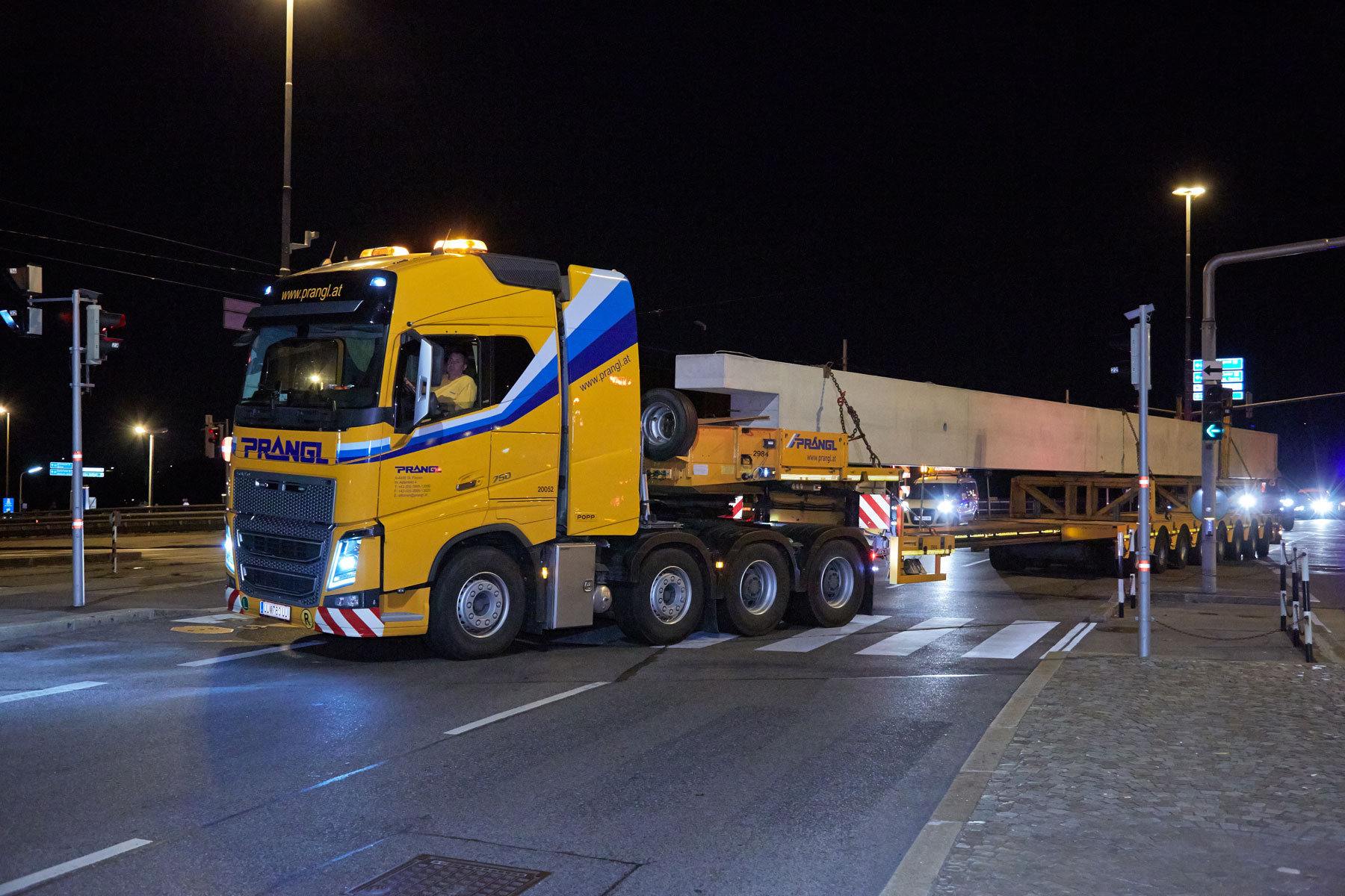 Prangl ist Transportpartner für neues Ikea-Logistikzentrum in Wien