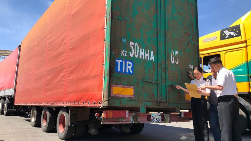 TIR-Transit: Historischer Moment für China-Eurasien-Handel