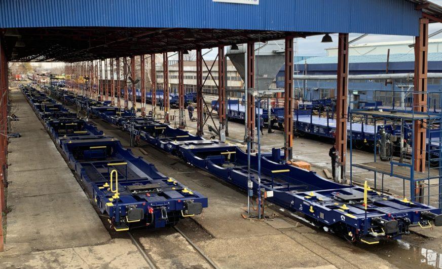 100 neue Doppeltaschenwagen bei der Trade Trans Group