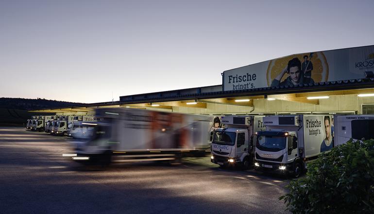 Kröswang GmbH erweitert Logistikzentrum am Firmensitz in Grieskirchen