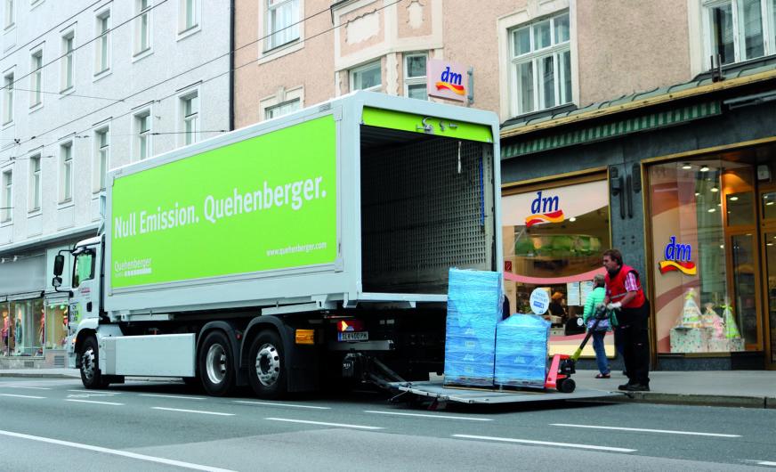 Quehenberger Logistics: Weitere E-Trucks im Anrollen