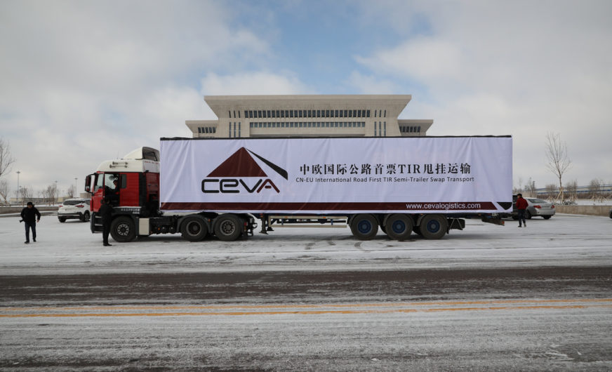 Ceva Logistics startet regelmäßigen China-Europe-Trucking-Service