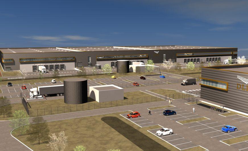 DLH develops modern logistics park in the Nuremberg region