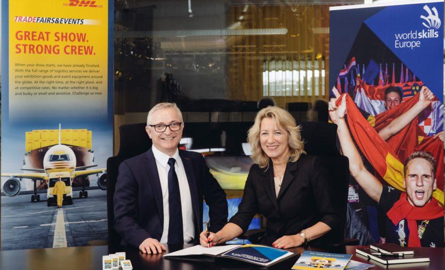 DHL Freight steuert Logistik für World Skills Europe