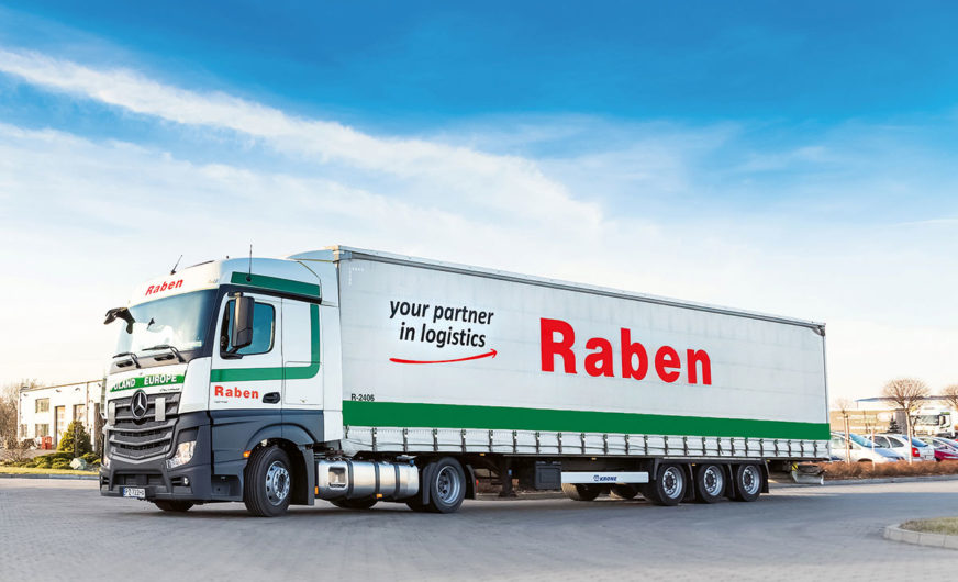 Raben Group opens its 30th branch in Germany