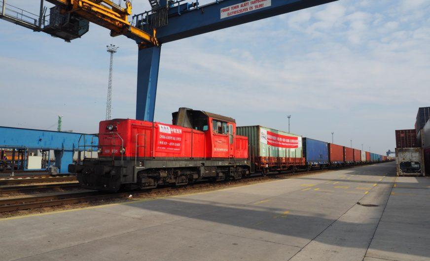 Rail Cargo Group: Erster Containerzug von Xi'an nach Budapest Terminal – BILK