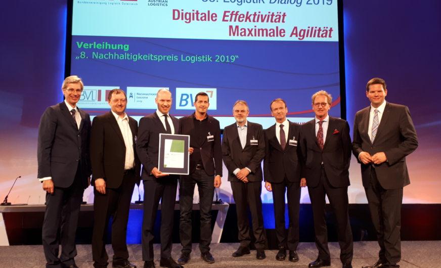 Rail Cargo Group erhält BVL Nachhaltigkeitspreis