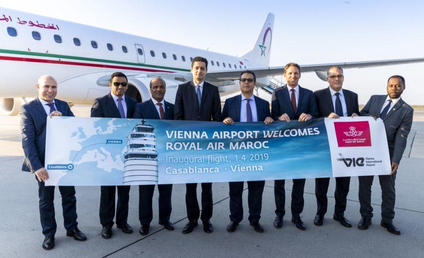 Royal Air Maroc kehrt nach Wien zurück