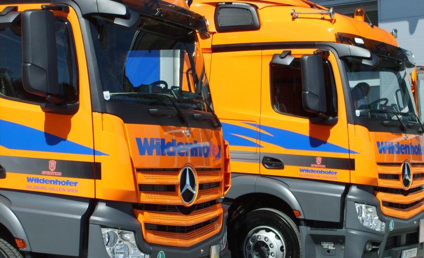 Spedition Wildenhofer hat einen neuen Standort in Tirol bezogen