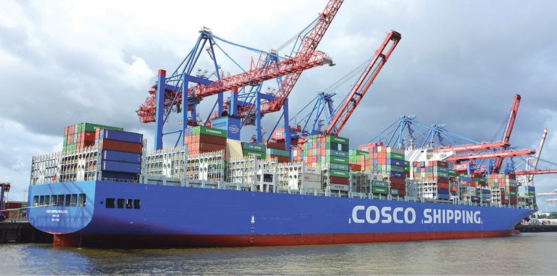 Cosco Shipping Lines setzt weiter auf starke Kundenorientierung