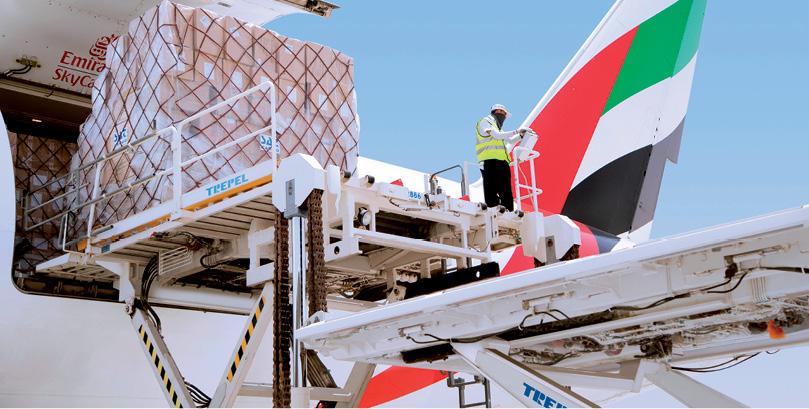 Emirates SkyCargo setzt starke  Akzente am Flughafen Wien