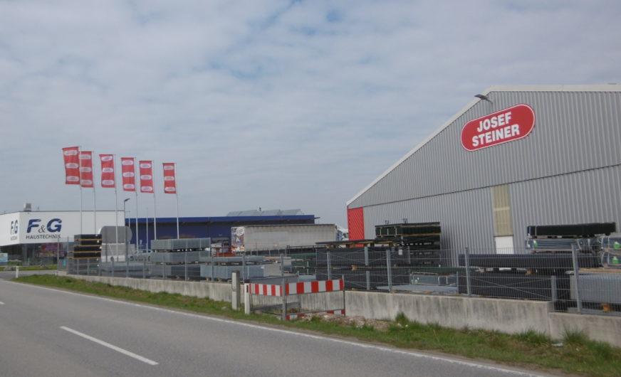 Firma Josef Steiner eröffnet weiteren Standort für Logistikmanagement