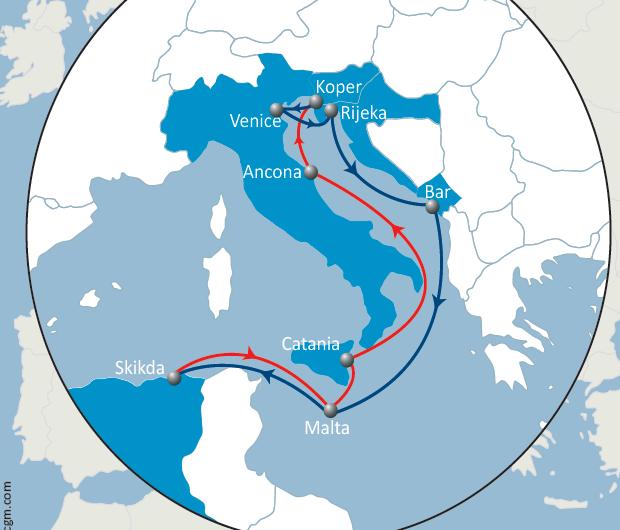 CMA CGM startet erste Direktverbindung von der Adria nach Algerien
