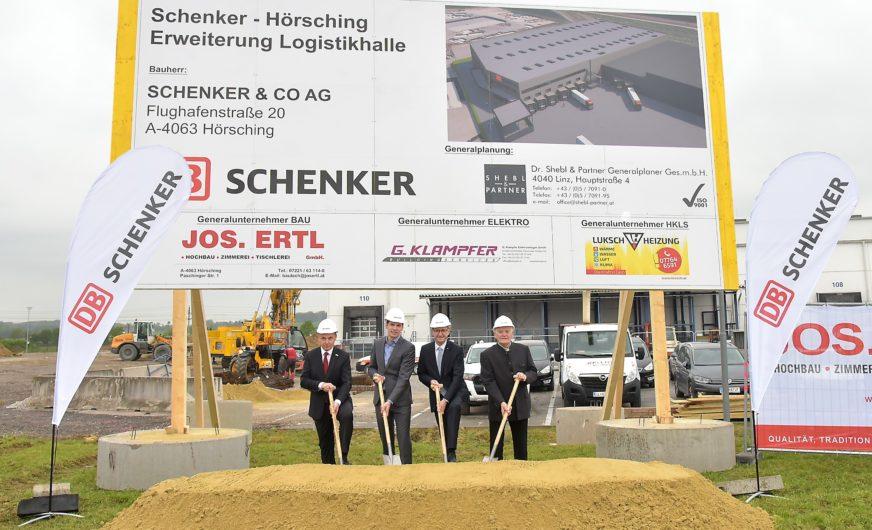 DB Schenker erweitert Logistikfläche am Standort Linz Hörsching