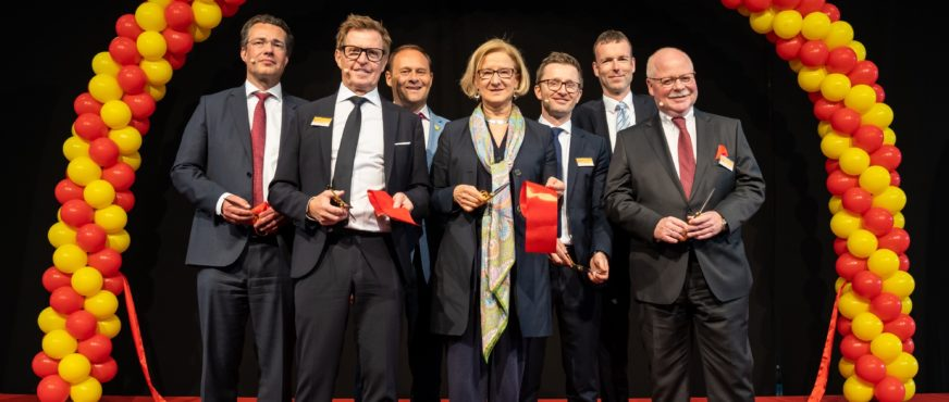 Official opening of the DHL Campus Vienna Airport