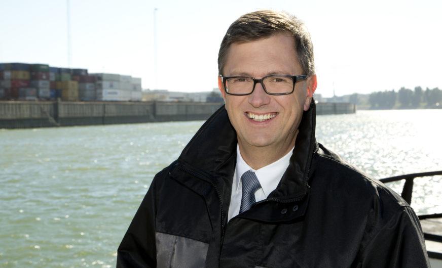 Fritz Lehr ist neuer Präsident der European Federation Of Inland Ports (EFIP)