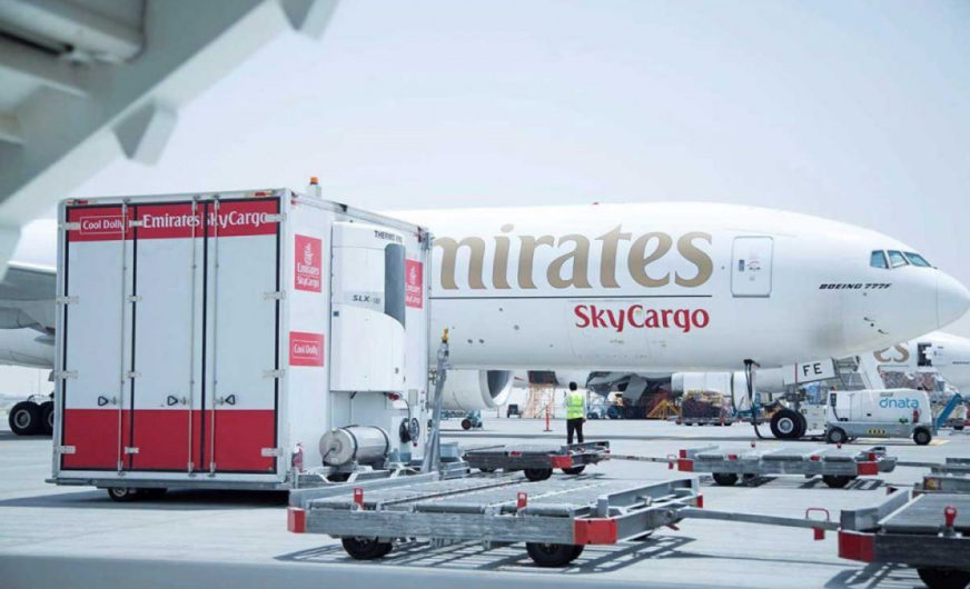 Emirates sees airfreight to have gone into reverse gear