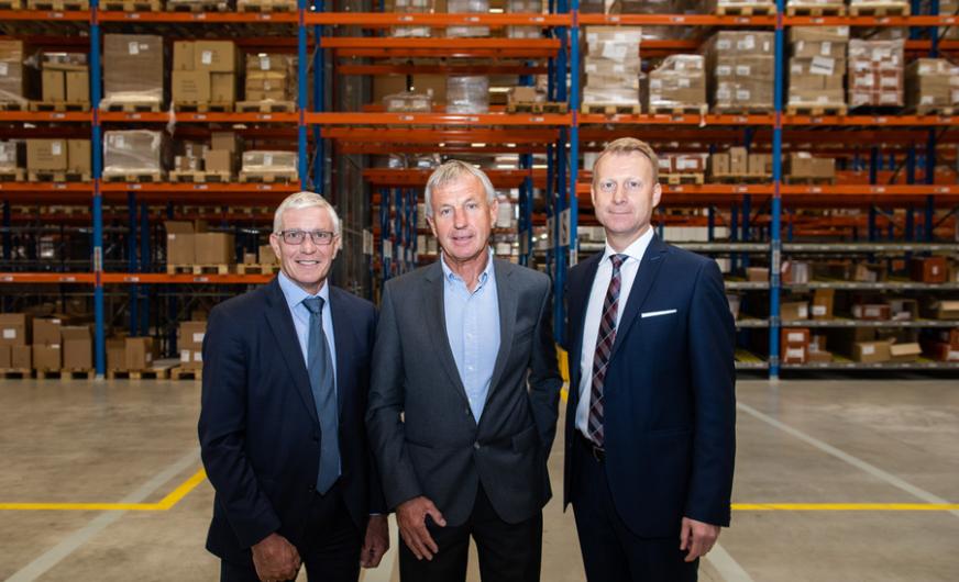 Neues Pharma Logistik Zentrum mit 10.000 Palettenstellplätzen in Wels