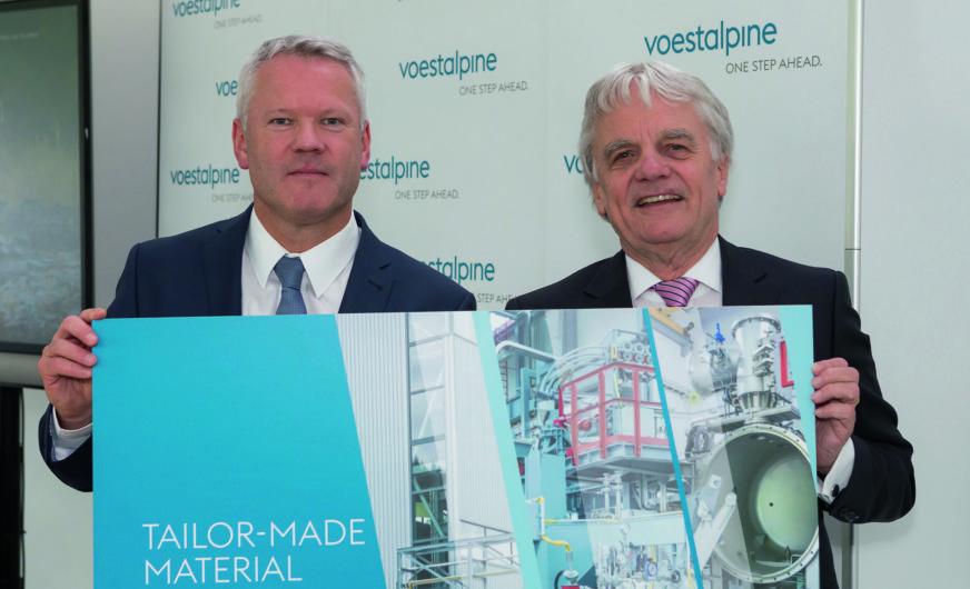 voestalpine eröffnet ein komplettes Stahlwerk im Kleinformat in Donawitz