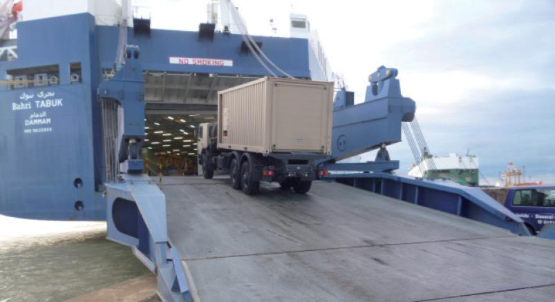 ESF Shipping & Forwarding etabliert sich im Segment der RoRo-Transporte