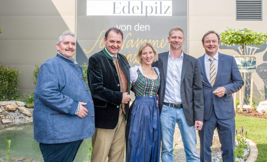 """Neue 15.000 m² Produktionsstätte für die """"Schwammerlprinzen"""""""
