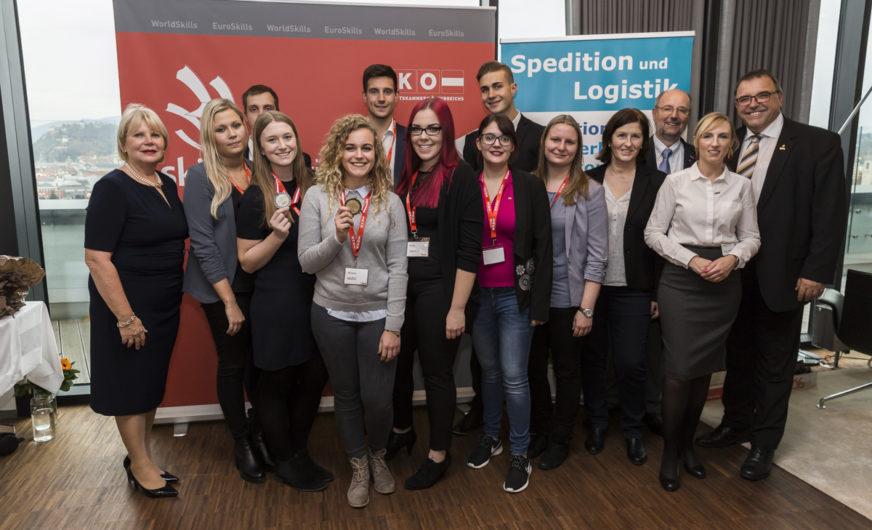 SkillsAustria 2019 für Jungspediteure geht in die nächste Runde