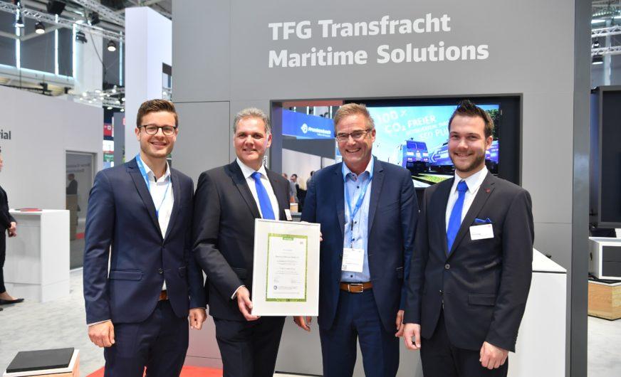 TFG Transfracht versichert BMW klimaneutralen Transport