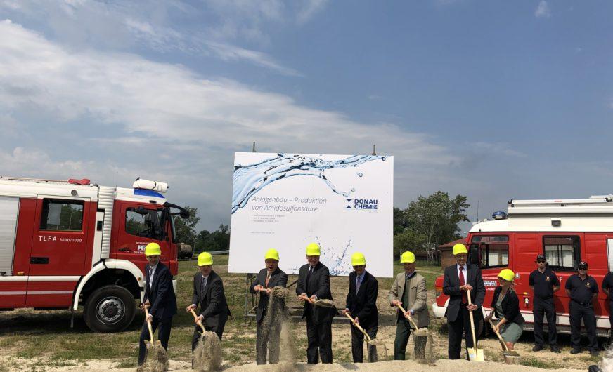 Donau Chemie AG: 20 Mio. Euro-Investition in Pischelsdorf
