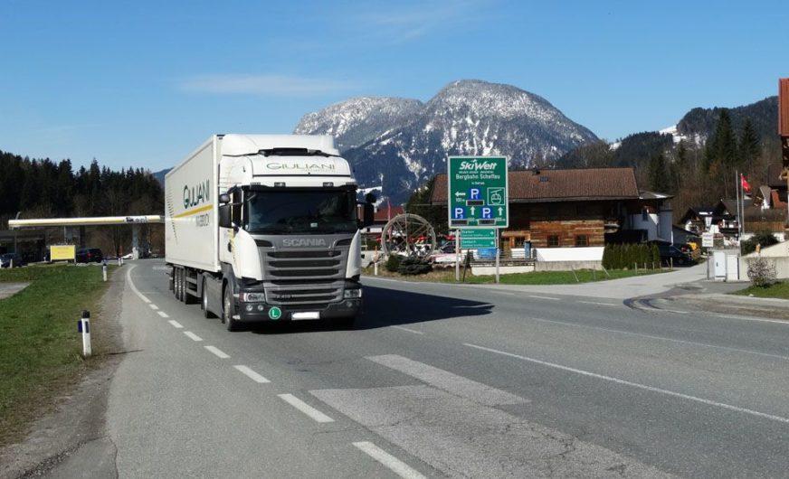 Tirol verordnet weitere Maßnahmen gegen den Transitverkehr