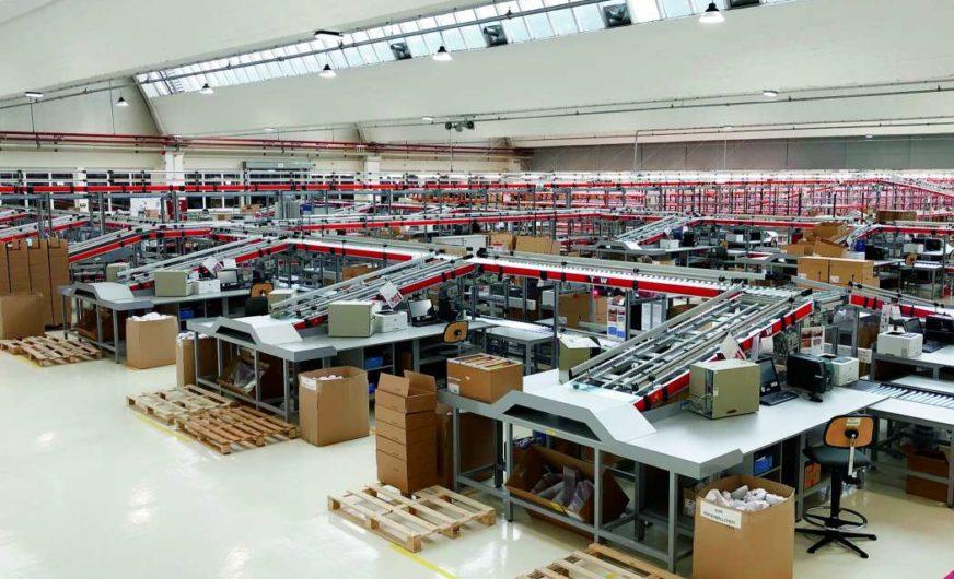 Logistik ist die Kernkompetenz der Triumph International AG in Wiener Neustadt geworden