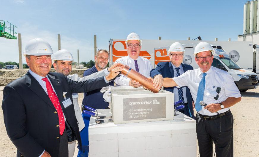 trans-o-flex baut Logistikzentrum mit eigener Stromproduktion