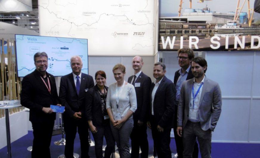 Österreichische Donaulogistik verschreibt sich der Kundenorientierung