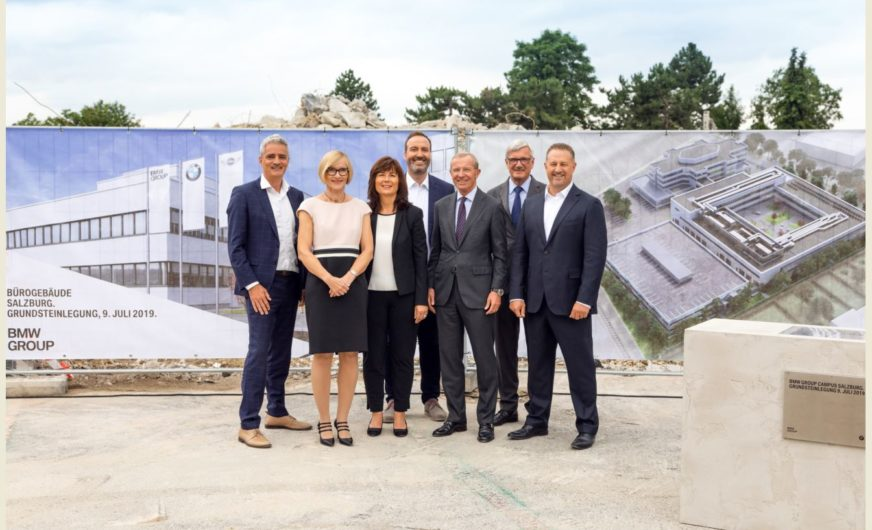 BMW Group investiert über 28 Mio. Euro am Standort Salzburg