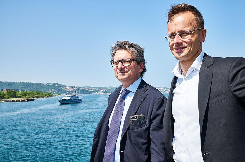 Hafen Triest baut einen Multipurpose Terminal für Ungarns Außenhandel