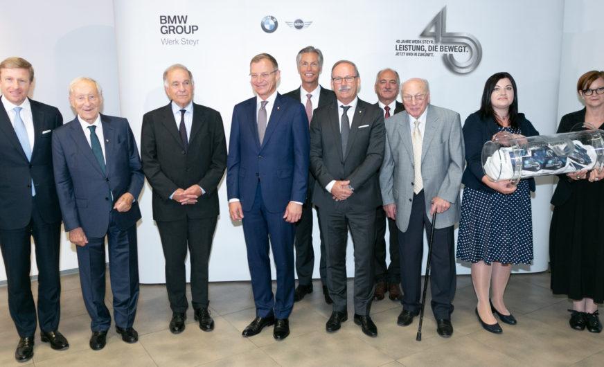 BMW Group Werk Steyr: 1,2 Mio. Motoren jährlich für die ganze Welt