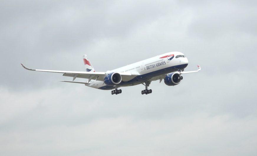British Airways übernimmt ersten A350-1000 Jet