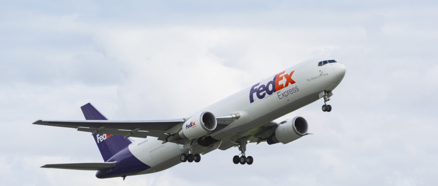First Boeing 767F to begin service in Europe for FedEx Express